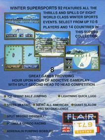 Winter Supersports 92 - Box - Back