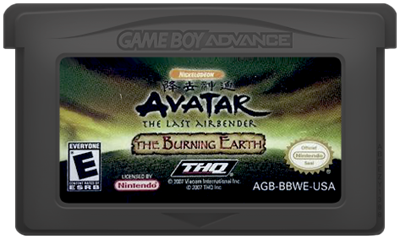 Avatar: The Last Airbender: The Burning Earth - Cart - Front