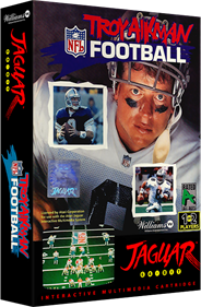 Troy Aikman NFL Football - Box - 3D