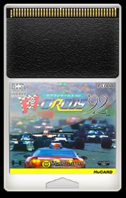 F1 Circus '92 - Fanart - Cart - Front