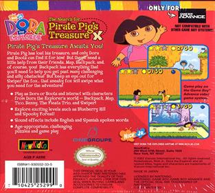 Dora the Explorer: The Search for Pirate Pig's Treasure - Box - Back