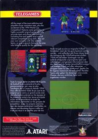 International Sensible Soccer - Box - Back