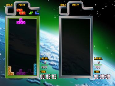 Tetris: The Grand Master 3 Terror Instinct - Screenshot - Gameplay