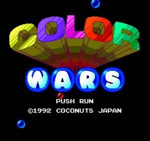 Color Wars - Screenshot - Game Title