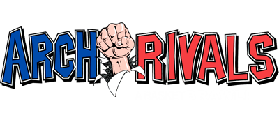 Arch Rivals: A Basketbrawl! - Clear Logo