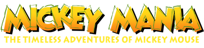 Mickey Mania: The Timeless Adventures of Mickey Mouse - Clear Logo