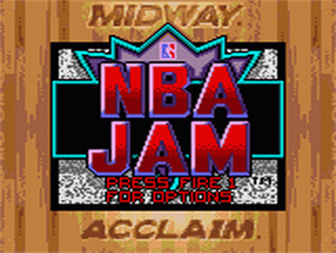 NBA Jam - Screenshot - Game Title