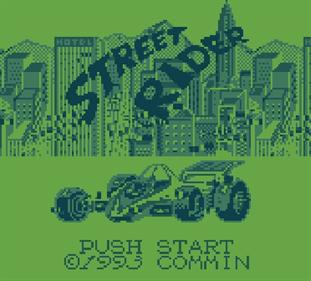 Street Rider - Screenshot - Game Title