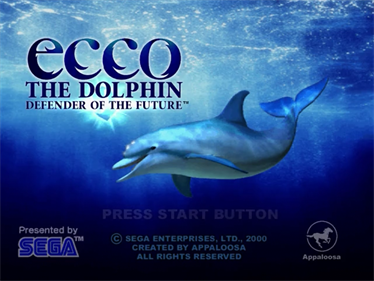Ecco the Dolphin: Defender of the Future - Screenshot - Game Title