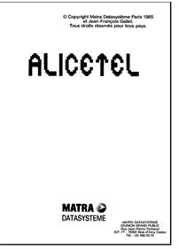 Alicetel