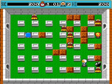 Dyna Blaster - Screenshot - Gameplay