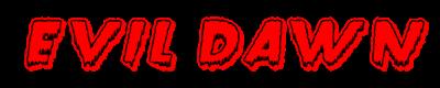 Evil Dawn - Clear Logo