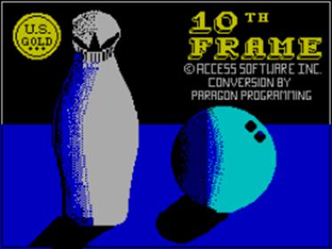 10th Frame - Screenshot - Game Title