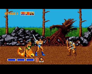 Golden Axe - Screenshot - Gameplay