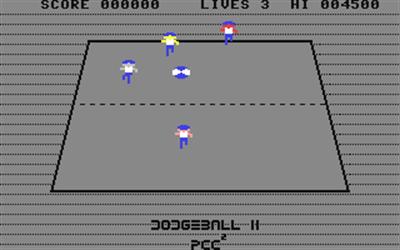 Dodgeball II - Screenshot - Gameplay