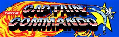 Captain Commando - Arcade - Marquee
