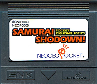 Samurai Shodown!: Pocket Fighting Series - Cart - Front