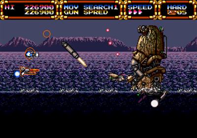 Advanced Busterhawk Gley Lancer - Screenshot - Gameplay