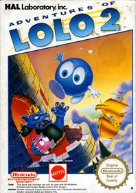 Adventures of Lolo 2 - Box - Front