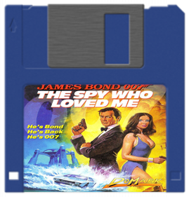 James Bond 007: The Spy Who Loved Me - Fanart - Disc