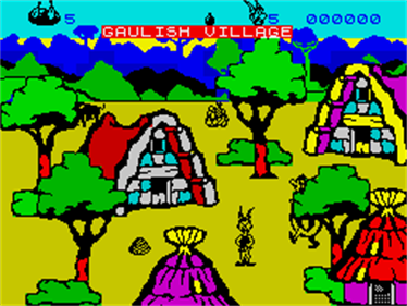 Asterix and the Magic Cauldron - Screenshot - Gameplay