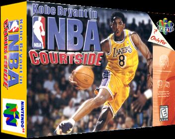 Kobe Bryant in NBA Courtside - Box - 3D