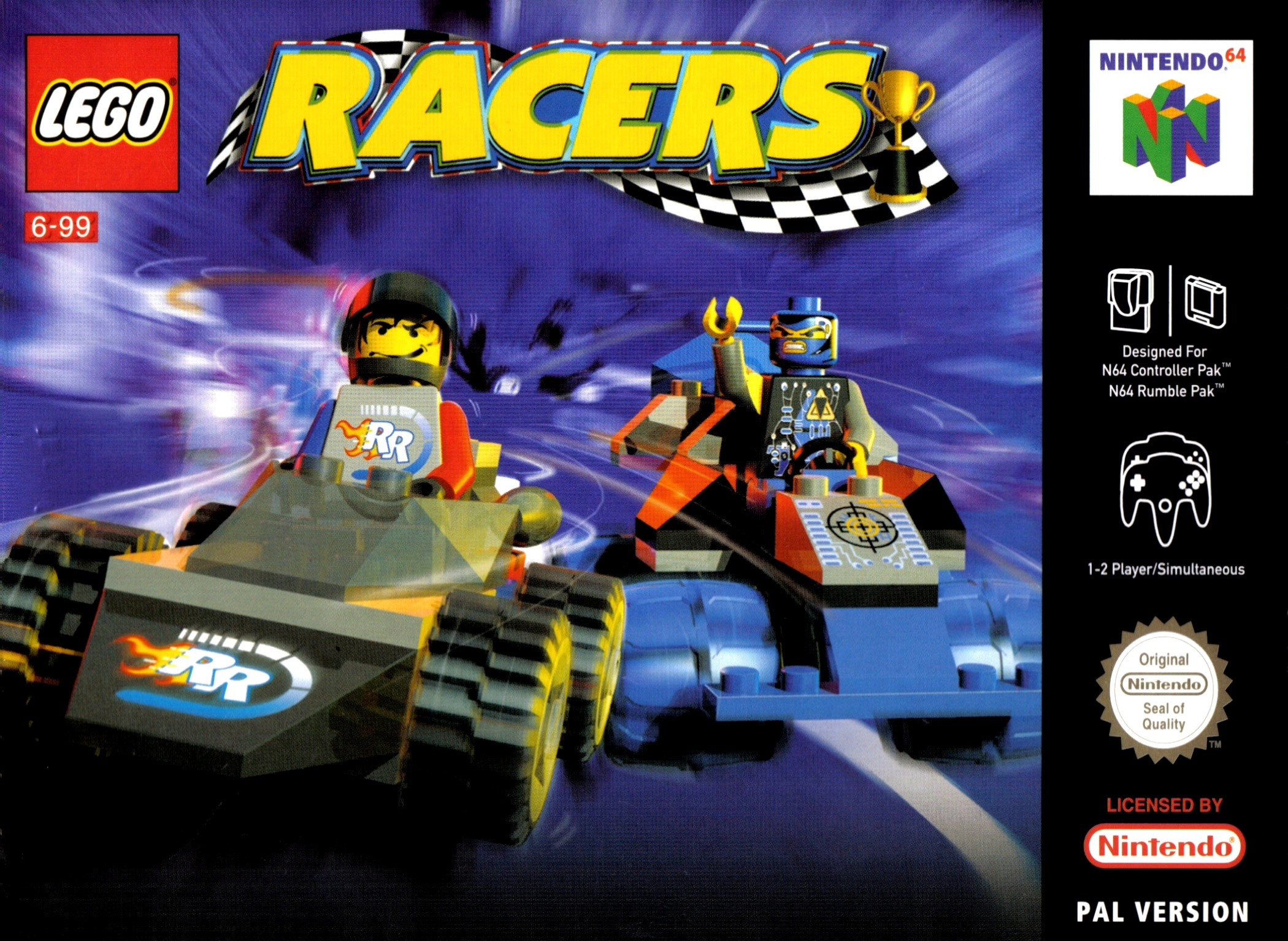 LEGO Racers Details LaunchBox Games Database