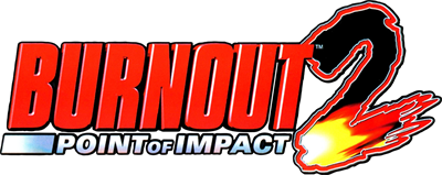 Burnout 2: Point of Impact - Clear Logo