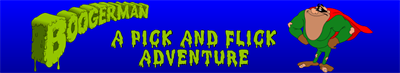 Boogerman: A Pick and Flick Adventure - Banner