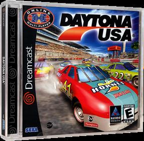 Daytona USA 2001 - Box - 3D