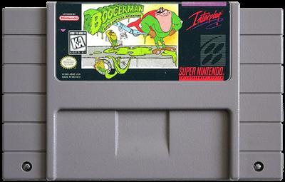 Boogerman: A Pick and Flick Adventure - Fanart - Cart - Front