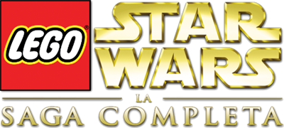 LEGO Star Wars: The Complete Saga - Clear Logo