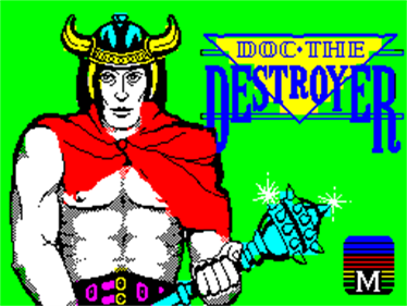 Doc the Destroyer - Screenshot - Game Title