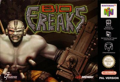 Bio F.R.E.A.K.S. - Box - Front