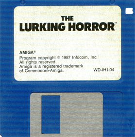 The Lurking Horror - Disc