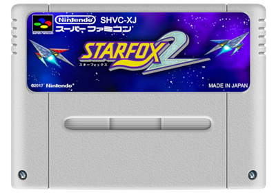 Star Fox 2 - Cart - Front