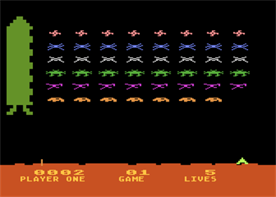 Space Invaders - Screenshot - Gameplay