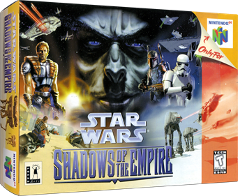 Star Wars: Shadows of the Empire - Box - 3D