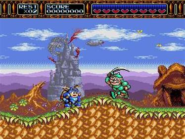 Rocket Knight Adventures - Screenshot - Gameplay