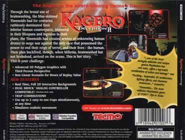 Kagero: Deception II - Box - Back