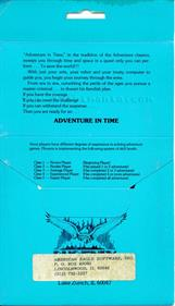 Adventure in Time - Box - Back