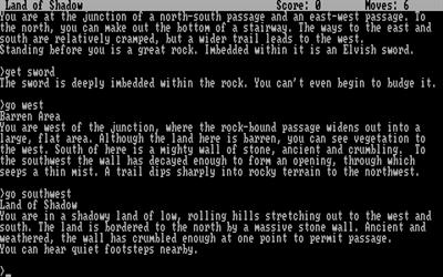 Zork III: The Dungeon Master - Screenshot - Gameplay