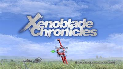 Xenoblade Chronicles - Screenshot - Game Title