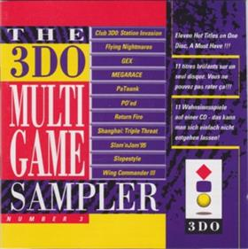 The 3DO Multi Game Sampler Number 3