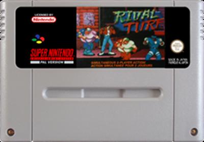 Rival Turf! - Fanart - Cart - Front