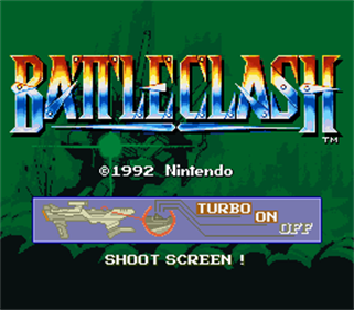 Battle Clash - Screenshot - Game Title
