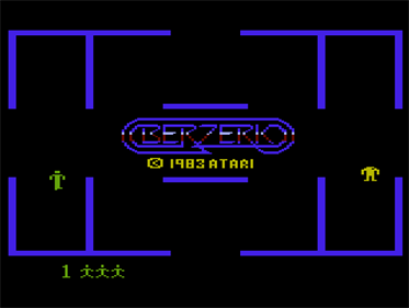 Berzerk - Screenshot - Game Title