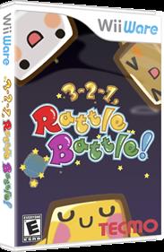 3-2-1, Rattle Battle! - Box - 3D