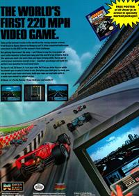 Al Unser Jr. Turbo Racing - Advertisement Flyer - Front