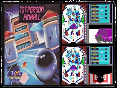 1st Person Pinball - Fanart - Background